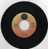 SALE ITEM - Jah Cure - My Life / Instrumental (Danger Zone Records) 7""